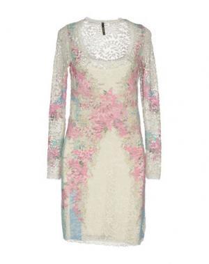 Короткое платье LUNATIC. Цвет: белый