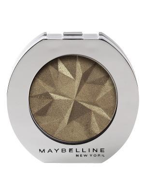 Моно тени для глаз, цвет: Металл 40, Кобальт, 3 мл Maybelline New York. Цвет: темно-зеленый