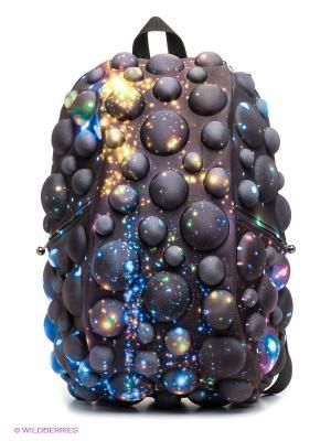 Рюкзак Bubble Full MadPax. Цвет: серый, желтый, синий