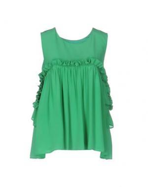 Блузка ELLA LUNA. Цвет: зеленый