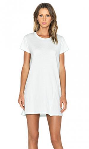 Платье-футболка tara une. Цвет: мята