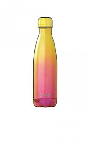 Бутылка для вода объёма 17 унций spectrum Swell S'well. Цвет: желтый