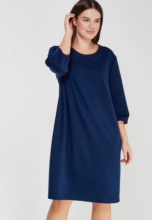 Платье XLady. Цвет: синий