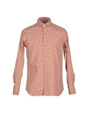 Pубашка ALAIN FRACASSÍ. Цвет: пастельно-розовый