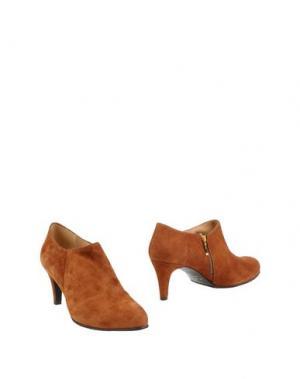 Ботинки MARIAN. Цвет: коричневый