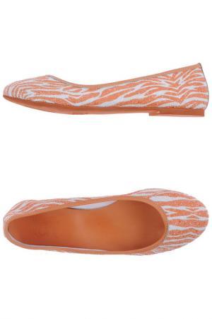 Балетки Loft. Цвет: оранжевый