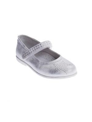 Туфли PlayToday. Цвет: серый