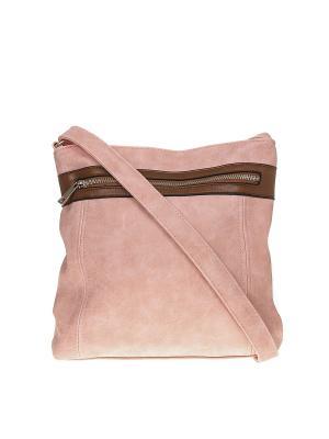 Сумка Migura. Цвет: розовый, коричневый