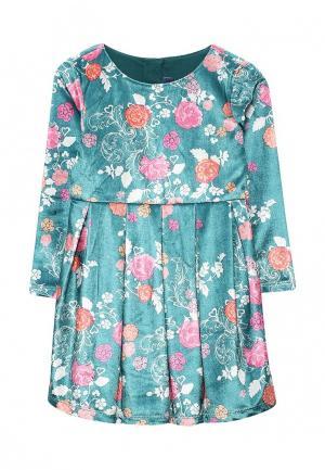 Платье Chicco. Цвет: зеленый