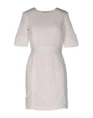 Короткое платье INTROPIA. Цвет: белый