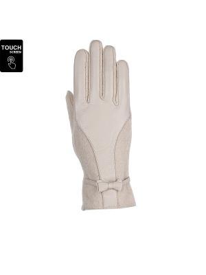 Перчатки Fabretti. Цвет: молочный