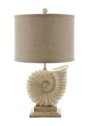 Настольный светильник Heine Home. Цвет: телесный
