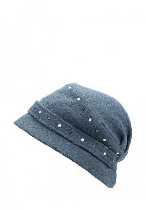 Шляпа Miss sherona. Цвет: синий