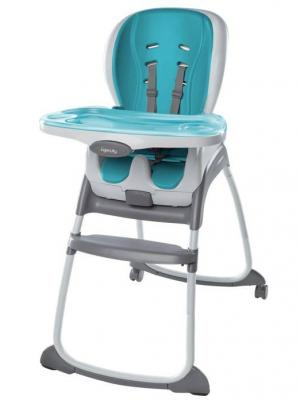 Стульчик для кормления Smart Clean 3-в-1, Голубой BRIGHT STARTS. Цвет: голубой