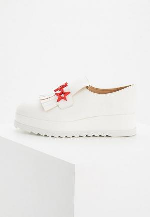 Ботинки Twin-Set Simona Barbieri. Цвет: белый