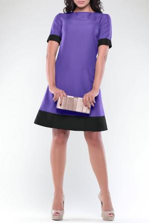 Платье REBECCA TATTI. Цвет: светло-фиалковый