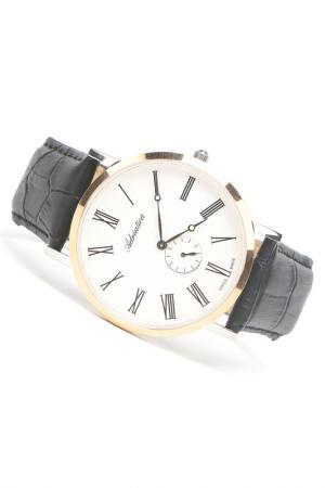 Часы наручные Adriatica. Цвет: розовый, стальной, белый