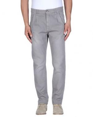 Повседневные брюки IT'S MET. Цвет: голубиный серый