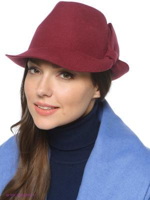 Шляпа SEEBERGER. Цвет: темно-красный, красный, темно-бордовый
