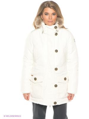 Куртка Luhta. Цвет: белый