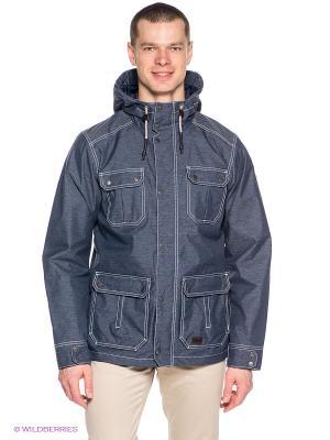 Куртка KATORO TEXAPORE JKT M Jack Wolfskin. Цвет: темно-синий