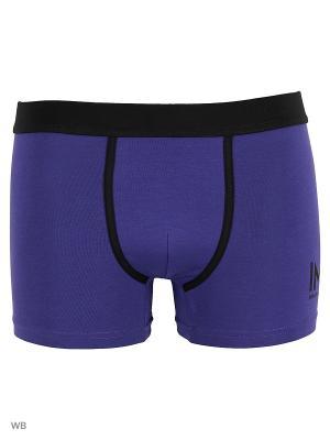 Трусы боксер Infinity Lingerie. Цвет: черный, синий, фиолетовый