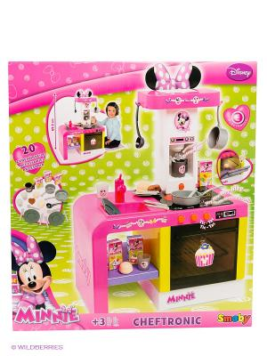 Кухня Cheftronic Minnie Smoby. Цвет: розовый