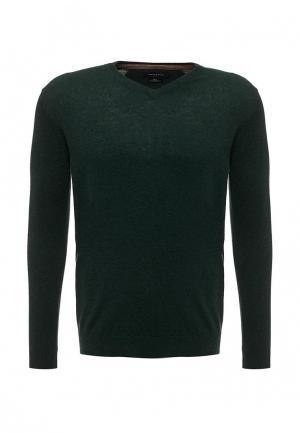 Пуловер Cortefiel. Цвет: зеленый
