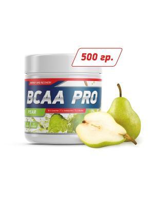 Аминокислоты BCAA Pro (груша) 500 гр GENETICLAB. Цвет: белый