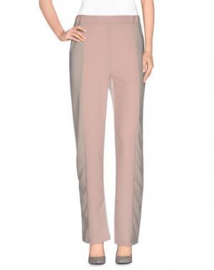 Повседневные брюки MNML COUTURE. Цвет: пастельно-розовый