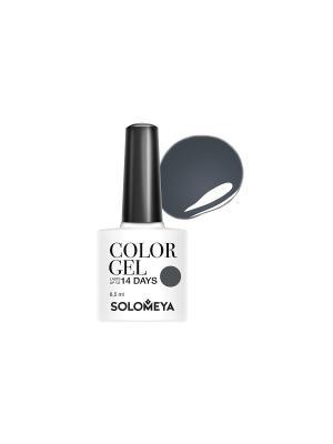 Гель-лак Color Gel Тон Fedora SCG006/Федора SOLOMEYA. Цвет: зеленый, серый, синий