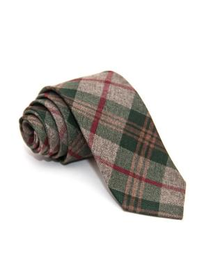 Галстук Churchill accessories. Цвет: черный, темно-коричневый, темно-бордовый, хаки, оливковый, темно-красный, терракотовый, бордовый, коричневый