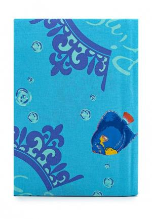 Комплект постельного белья 1,5-спальный Хлопковый Край. Цвет: голубой