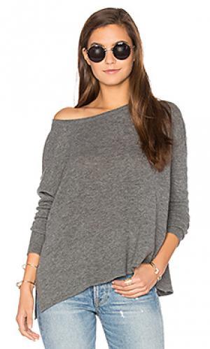 Пуловер svansky American Vintage. Цвет: серый
