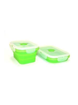 Контейнер из полимеров Vetta. Цвет: зеленый