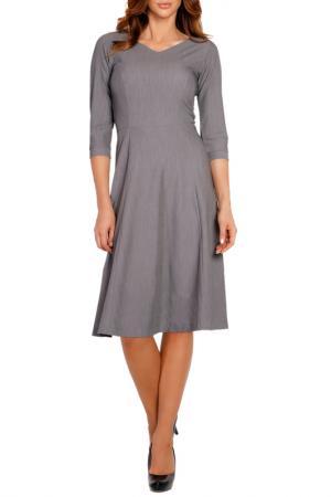 Платье LOU-LOU. Цвет: grey