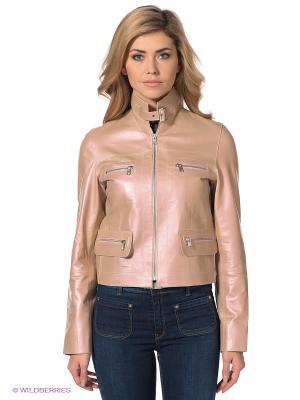 Куртка STEFANO FERRI. Цвет: бледно-розовый