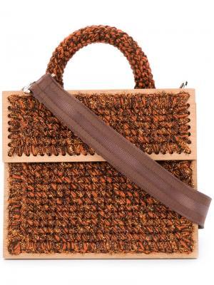 Lyudmila Copacabana tote 711. Цвет: коричневый