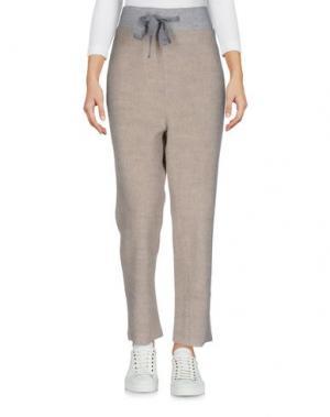 Повседневные брюки PDR PHISIQUE DU ROLE. Цвет: бежевый