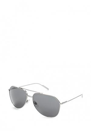 Очки солнцезащитные Dolce&Gabbana. Цвет: синий