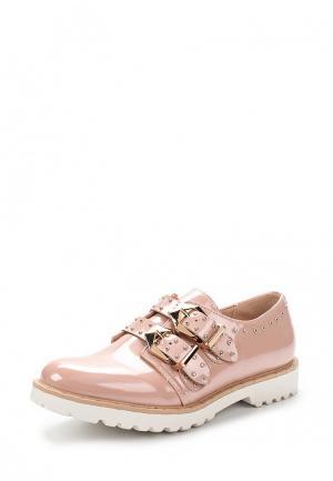 Ботинки Zona3. Цвет: розовый
