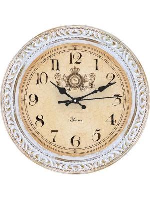 Часы настенные Михаилъ Москвинъ. Цвет: белый, золотистый