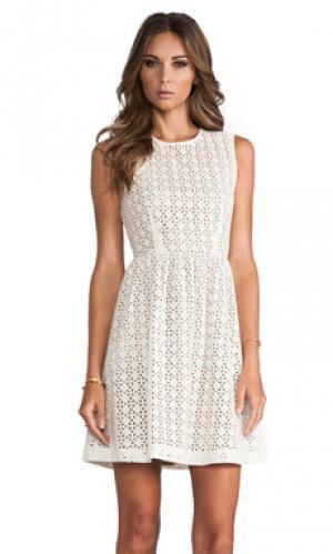 Платья отверстие MM Couture by Miss Me. Цвет: слоновая кость