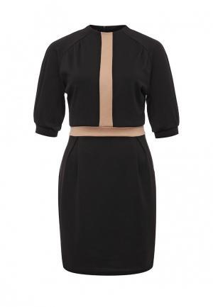 Платье SK House. Цвет: коричневый
