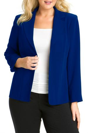 Пиджак Rebecca Bella. Цвет: blue