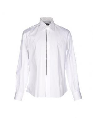 Pубашка GAI MATTIOLO. Цвет: белый