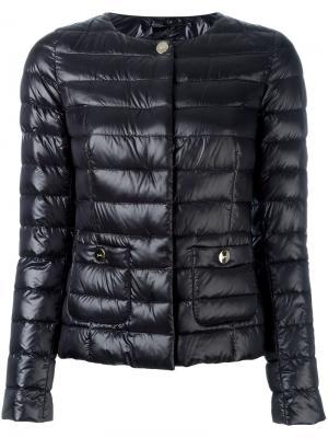 Дутая куртка Herno. Цвет: чёрный