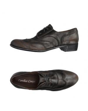 Обувь на шнурках CANDICE COOPER. Цвет: серый