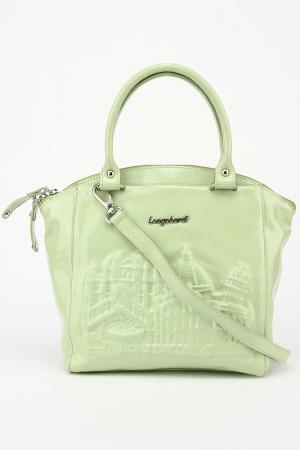 Сумка Longobardi. Цвет: зеленый