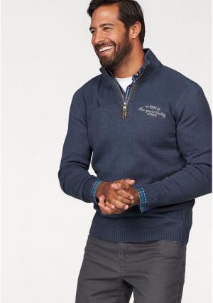 Пуловер MANS WORLD MAN'S. Цвет: синий